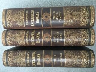 Vând cărti vechi-colecția Enciclopedia Română