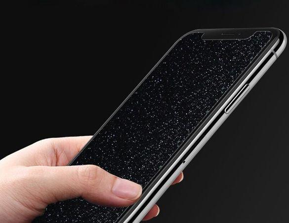 Стъклен протектор за Apple iPhone X - прозрачен, блестящ и за камера