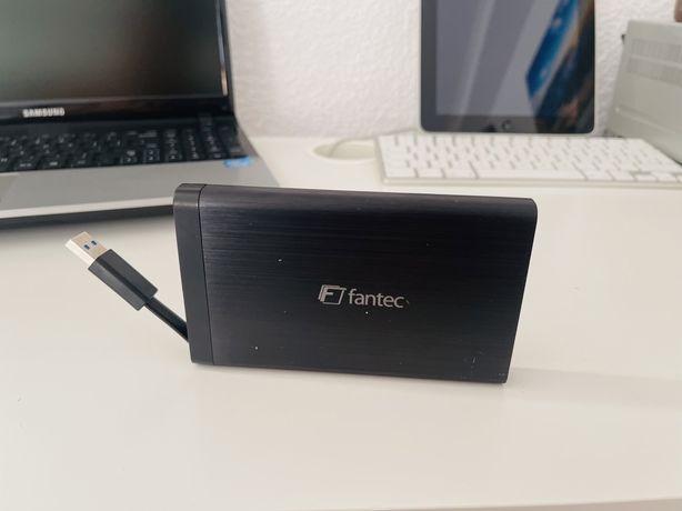 Hard extern de 1000GB Fantec AluLink U3,Usb 3.0, stare foarte bună