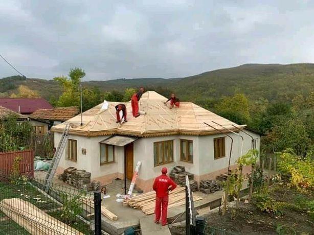 Firma spcializata reparati de urgenta acoperisuri,Dulgheri mansardari