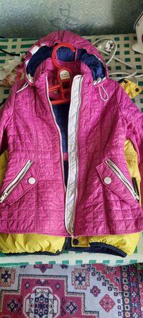 Детские куртки, на возраст 6-7 лет