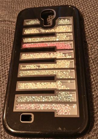 Husă Samsung Galaxy S4 glitter pian neagră