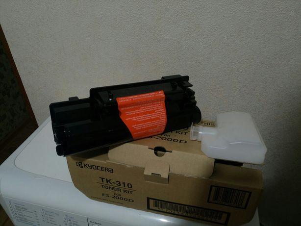 Тонер-картридж на Kyocera FS-2000 (TK-310)