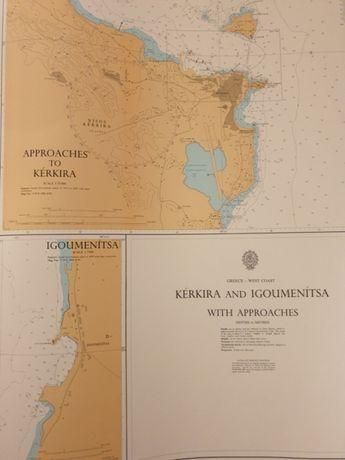 Морски навигационни карти