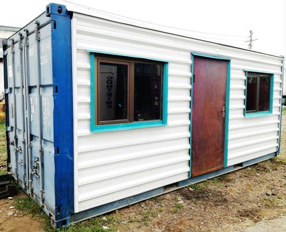 Жилой Блок-модуль (бытовка) 20 - футовый контейнер. Костанай.