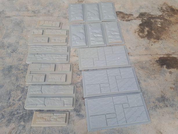 Формочки для заливки бетона