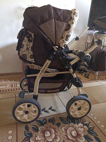 Продам детскую коляску складывается