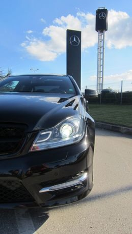 Mercedes C350 4Matic AMG Coupe (W204)