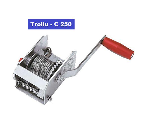 Troliu,winch manual AL-KO 250, C500, C900, 901 PLUS