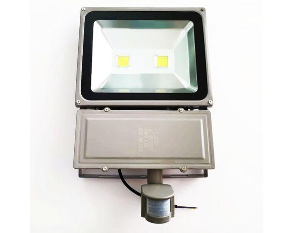 Proiector LED 100w cu Senzor de miscare, pentru exterior