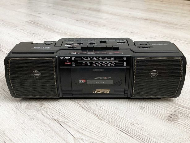Sharp WQ-T201Z Twincam. Магнитофон двухкассетный. Подарок меломану