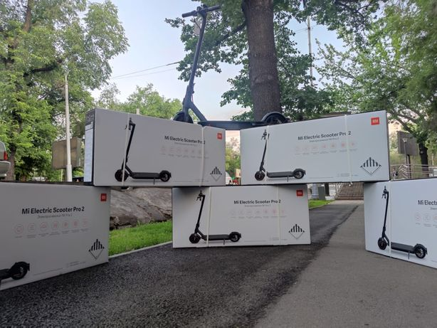 Электро самокат xiaomi mijia electric scooter pro 2 акция в алматы