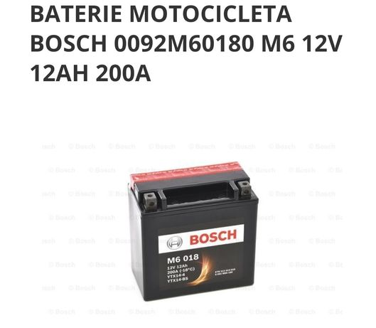 Baterie Bosch M6 motocicleta