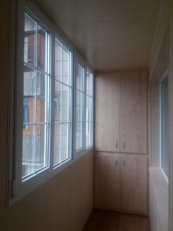 Ремонт,утепление и отделка балкона в Алматы