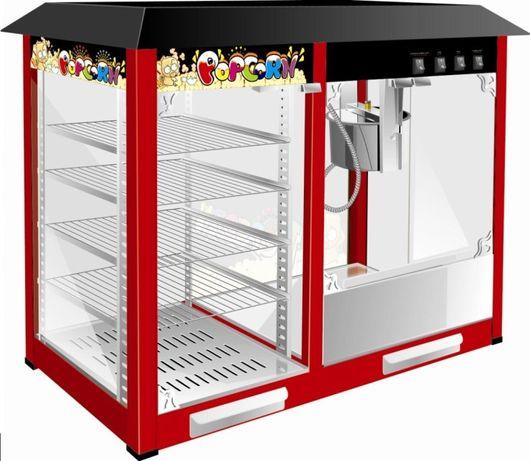Masina electrica popcorn cu vitrina  TRANSPORT gratuit