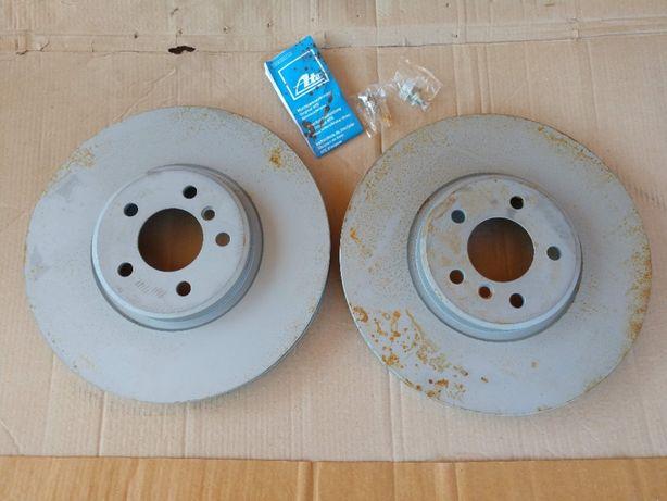 Disc frana fata ATE ventilat BMW X5 E70, X6 E71 E72 - 24.0136-0109.1