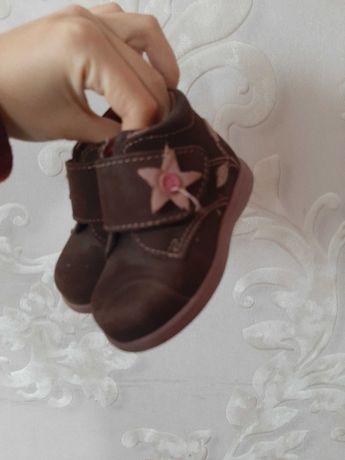 Ботинки детские. Новые