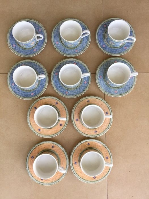 Vând set cafea(10 persoane)