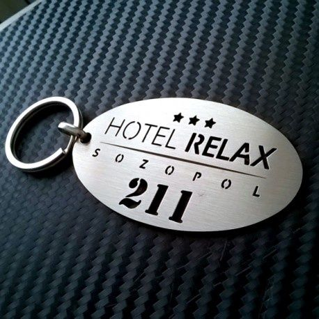 Ключодържатели за хотели / хотелски ключодържатели