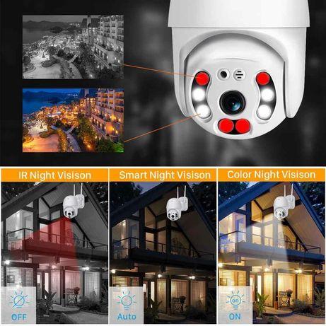Wi fi безжична камера водоустойчива FULL HD 1080P/5MP LENS