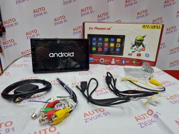 Автомагнитола на Андроиде/Android. Pioneer. Версия 10.!! Магнитафон.