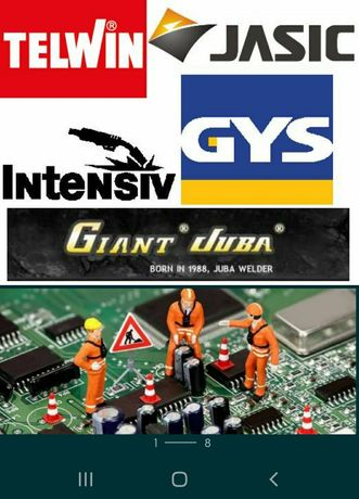 Service/Reparatii aparate sudura,aparate taiere plasma,roboti pornnire