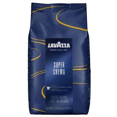 Cafea boabe Lavazza Super Crema, 1kg