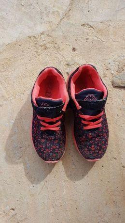 Adidasi fetite KAPPA ROZ nr.26 real/ 34 eticheta-TRANSPORT GRATIS