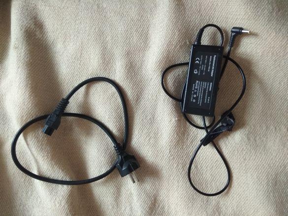 Зарядно за компютър и свързващия го кабел