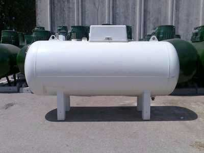 Rezervor propan, butan GPL Suprateran vertical nou 1000 litri