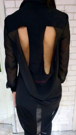 Дамска риза с гол гръб