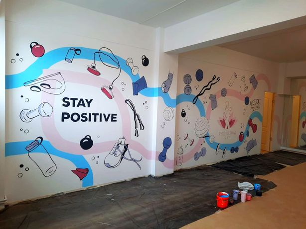Pictez pereţi interior/exterior, dormitoare copii, living, baruri