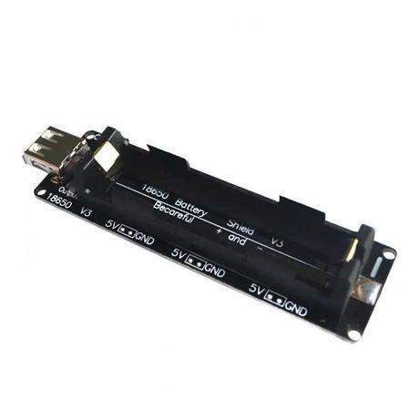 Источник бесперебойного электропитания 18650 Battery Shield V3