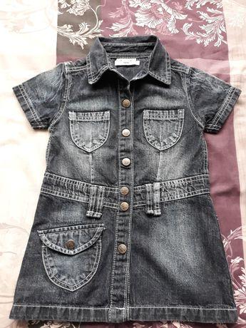 Детска дънкова рокля 104 р- р