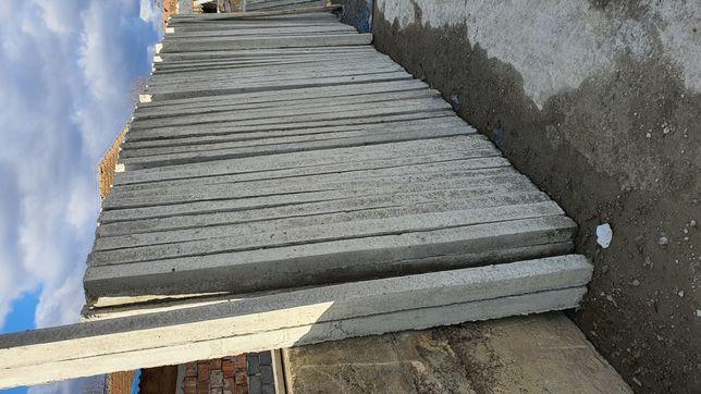Stalpi/șpalieri din beton cu armătura 2m