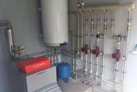 Сантехник установка котла Монтаж радиатора отопления Замена труб стояк