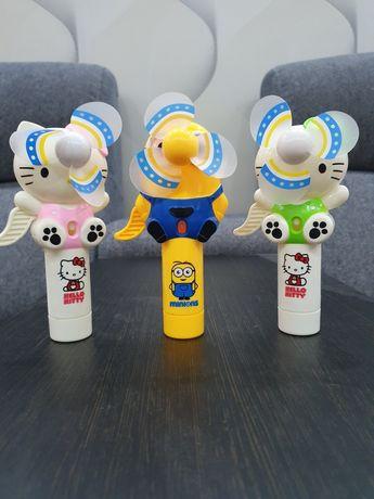 Продам вентиляторы-игрушки с распылителем воды