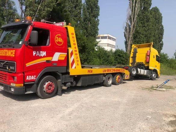 Пътна помощ тир камиони