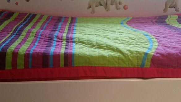 Покривка за единочно легло