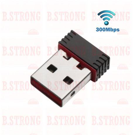 Adaptor Wireless USB 300Mbps negru 2.4GHz