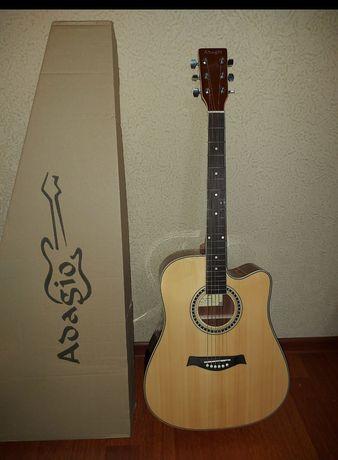 Акустическая гитара. Adagio. ГИТАРА САТЫЛАДЫ. ПРОДАМ ГИТАРУ