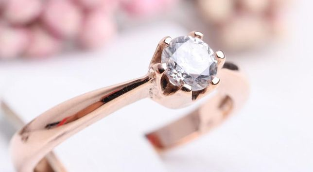 0% Кольцо с камнями , золото 585 Россия, вес 2.15 г. «Ломбард Белый»