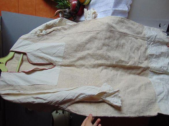Женска риза от бабин чеиз, народна носия, сукман, престилка