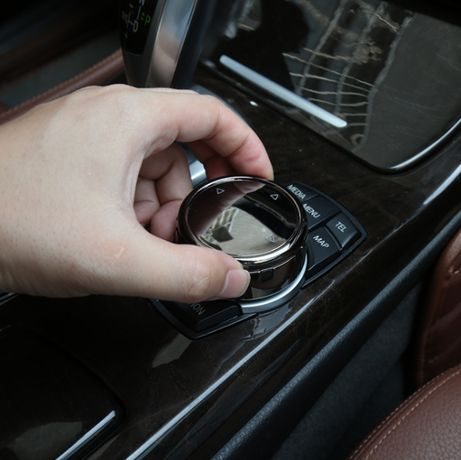 Trim BMW iDrive Buton Multimedia M X1 X3 X5 X6 F30 F10 F18 F11 F15 F16