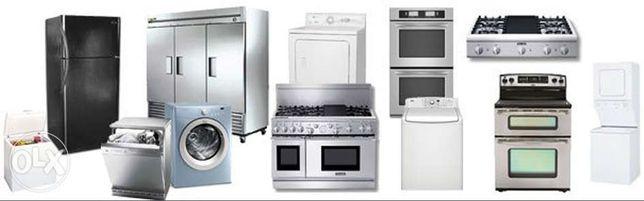 Reparatii Masini de spalat rufe si vase,frigidere,cuptoare,aragaze