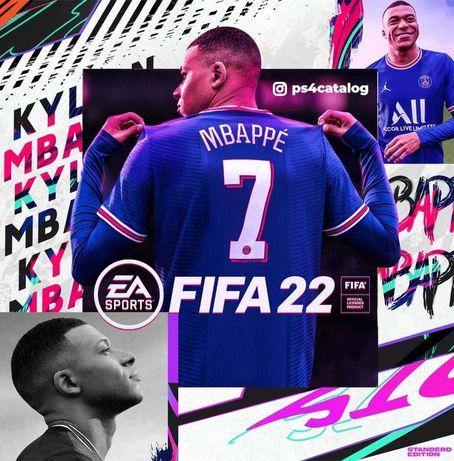 FIFA22 Игры для приставок (запись) на playstation 4 sony ps4 ps5 сони