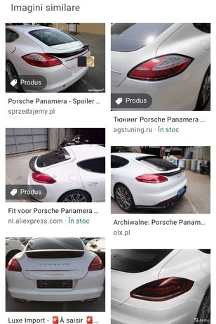 Aripa spate Porsche Panamera