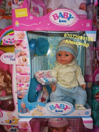 Кукла Беби Борн беби бон, Baby born, Beby Bon, пупс! Игрушки