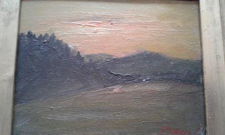 tablou ..INSERARE.. de pictor Lupu Dragos