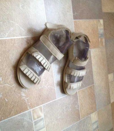 Летняя обувь Босоножки Сандалии Ecco  Кожаные